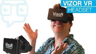tech review vizor virtual reality headset   vr