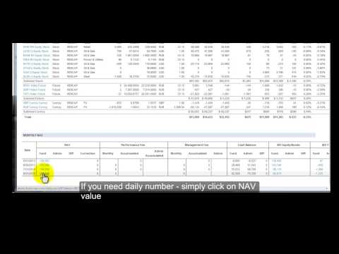 FundNAV Demo: Friendly Online Hedge Fund Accounting