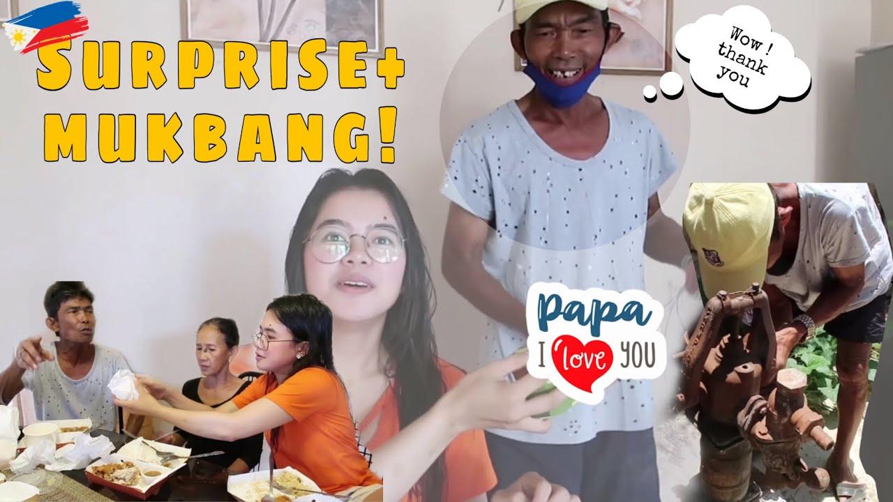 MAY PA SURPRISE KAY PAPA+CHOWKING EATBANG NG FAM🤣❤️