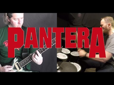 mouth for war - Pantera instrumental cover with Phil on vocals