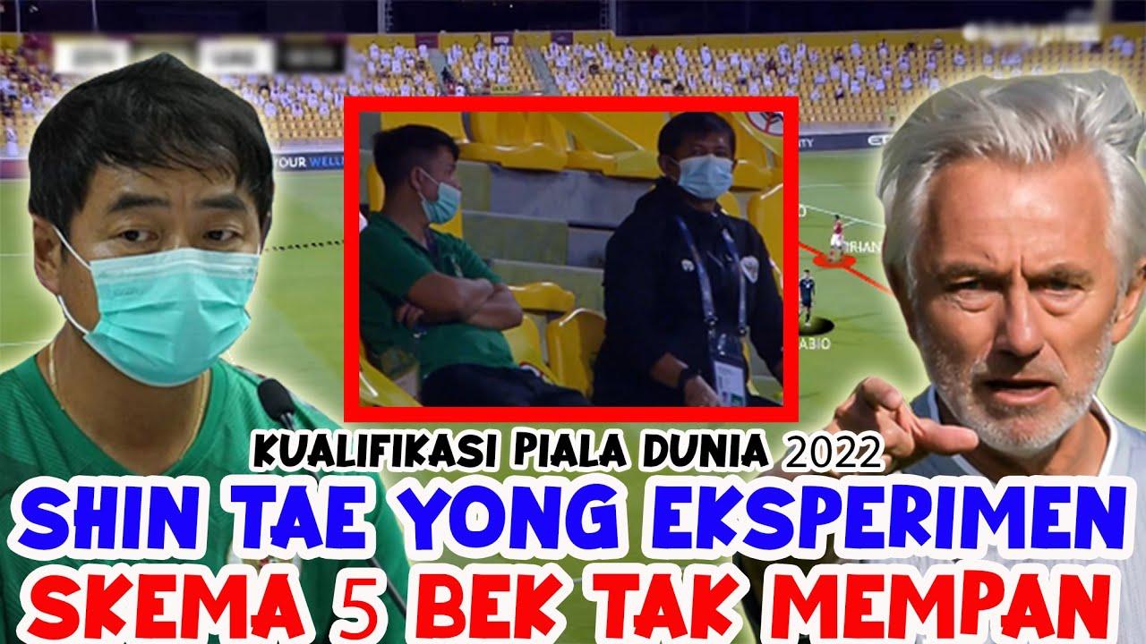 Shin Tae Yong Lakukan Eksperimen | Skema 5 Bek Tak Mempan | Indonesia 0 - 5 Uni Emirat Arab