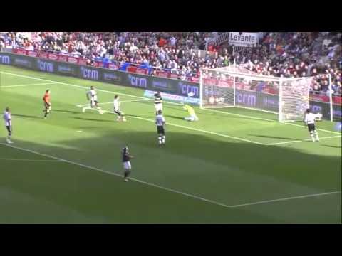Valencia vs Real Madrid 3-6  23/4/2011