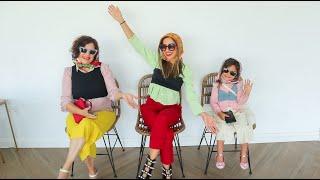 Mi MADRE, mi HIJA y YO montamos UNA PASARELA de MODELO ¡En CASA! | VLOG DIARIO | Familia Coquetes