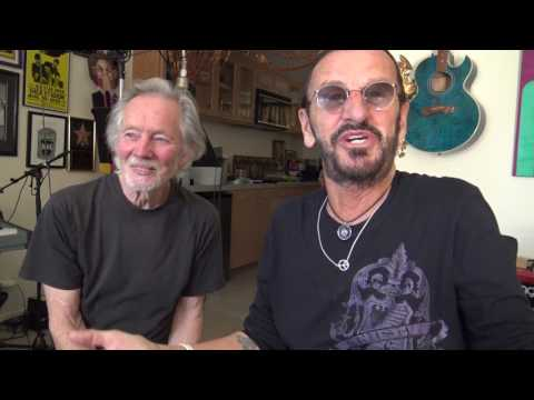 Ringo Starr & Klaus Voormann March 2017
