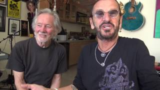 Ringo visits with his old friend Klaus Voormann and they discuss me...