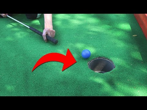 OMG NEVER DO THIS AT MINI GOLF!
