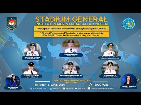 STADIUM GENERAL INSTITUT PEMERINTAHAN DALAM NEGERI TAHUN 2021