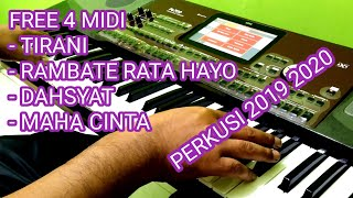 Free 4 MIDI dangdut original KORG pa700 pa600 pa300