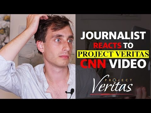 Journalist Reacts to Project Veritas CNN Video Expose