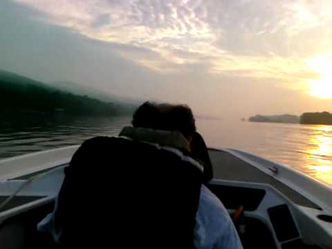 Speed boat ride in the Allison with Joe Rumore