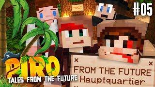 Unser NEUES HAUPTQUARTIER ★ #05 - Minecraft PIRO   Herr Bergmann