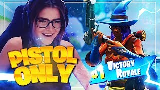THE *PISTOL ONLY* CHALLENGE ft. Svennoss (Fortnite: Battle Royale) | KittyPlays
