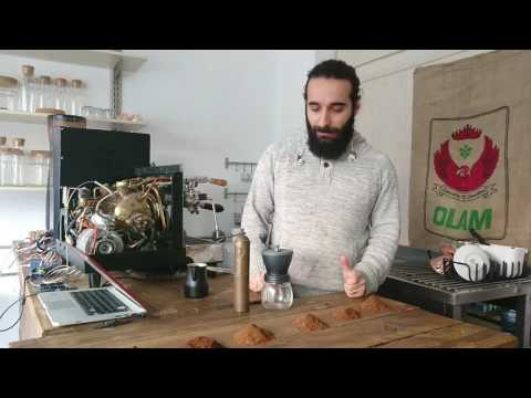 Coffee grinding degrees and tips