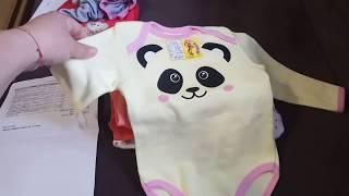 Обновки одежды для новорожденной девочки / Детский трикотаж ТМ