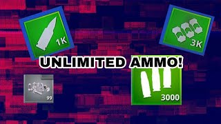 HOW TO GET *UNLIMITED AMMO* IN FORTNITE SAVE THE WORLD (NUTS N BOLTS)