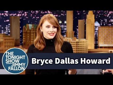 Bryce Dallas Howard Calls Out Jimmy's Jurassic World Cameo