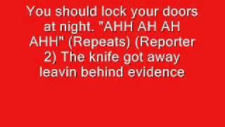 Lyrics Karoke (Annoyying orange kitchen intruder)