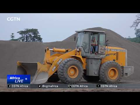 Chinese introduces environment-friendly sand production line in Sao Tome and Principe
