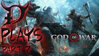 GOD OF WAR Walkthrough Gameplay New Game+ Part 7 - THE LIGHT (God of War 4)