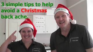 Avoiding unwanted back pain at xmas