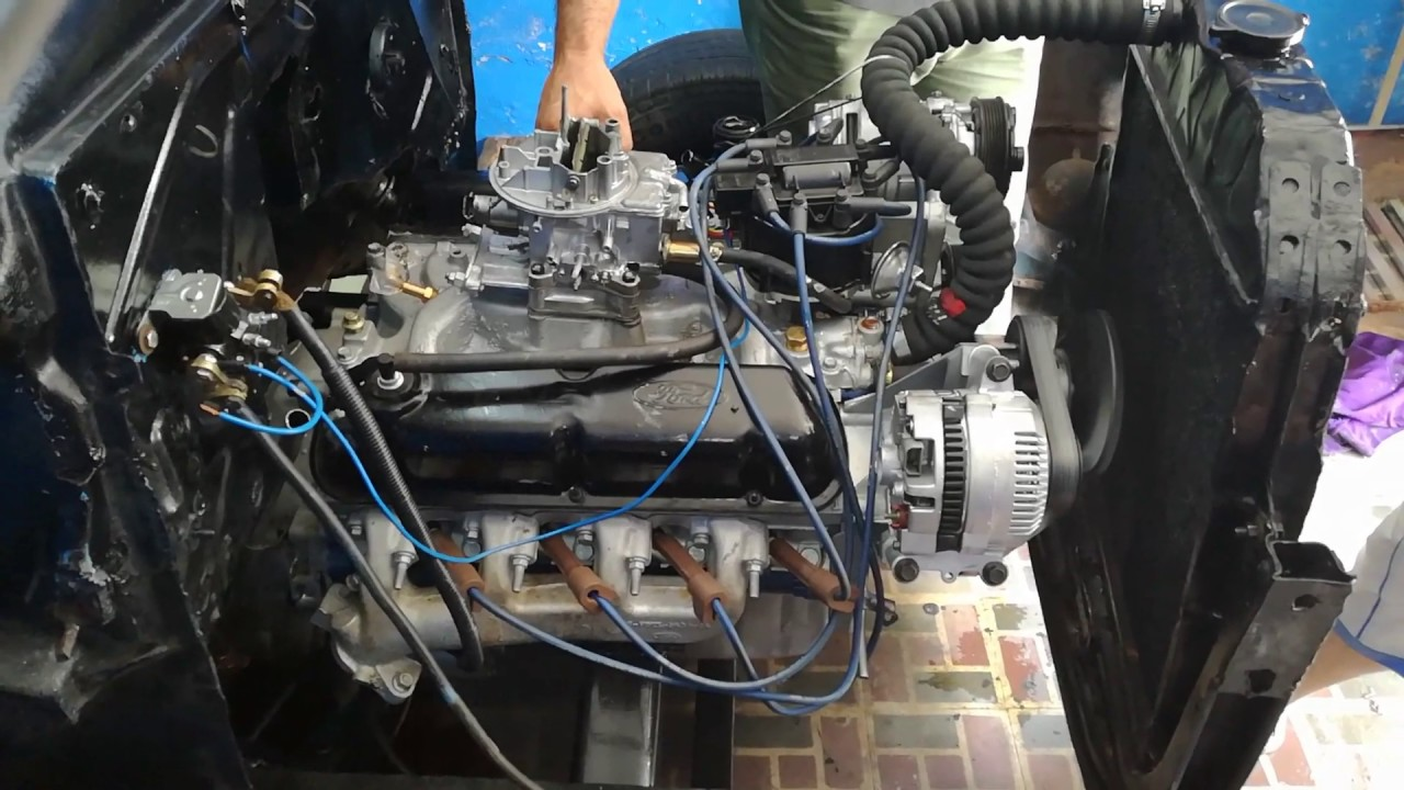 rebuilding 302 ford engine