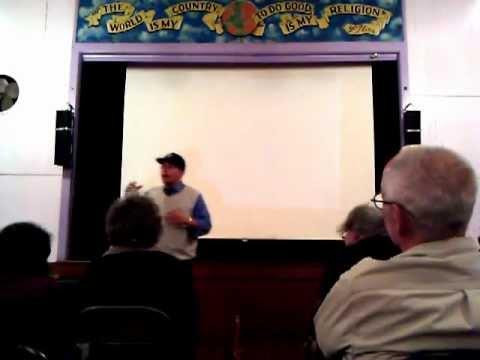 Kazu Haga - Jonathan Lewis intro to Dr Bernard Lafayette Jr. - Oakland, CA - 9/20/12 - 1 of 2