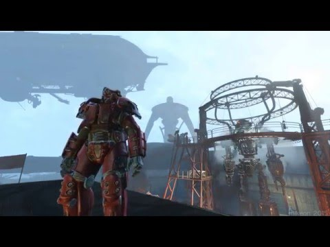 Fallout 4 Brotherhood Of Steel Airship Prydwen Fo4 Le