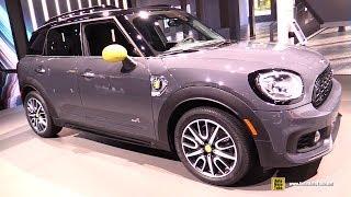 2019 Mini Cooper Countryman Plug In Hybrid - Exterior and Interior Walkaround - 2018 LA Auto Show