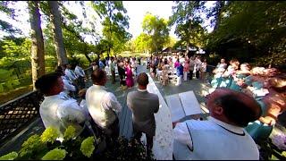 Lauren & Alex wedding 360 clip