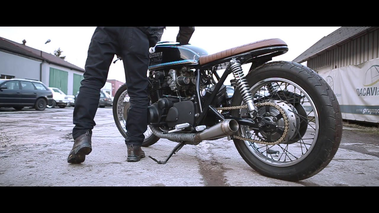 baq exhaust & dixer parts / cafe racer suzuki gs750 '77 exhaust