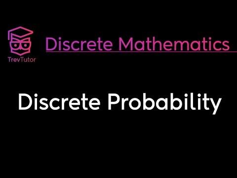 [Discrete Math 2] Discrete Probability