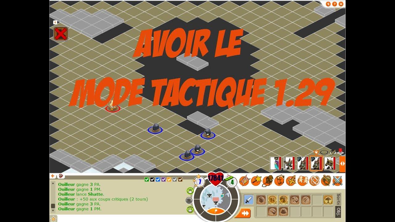 dofus 1.29 mode tactique