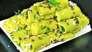 सुरळीची वडी  | Suralichi Vadi in Pressure Cooker | Khandvi Recipe by madhurasrecipe