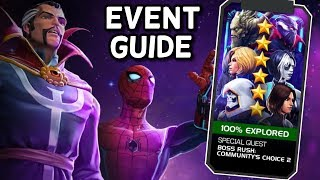 Community Boss Rush 2 Guide | Best Champs | Marvel Contest of Champions