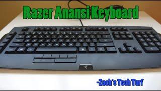 razer Anansi Gaming Keyboard - Review