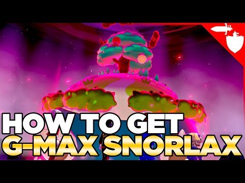 LIMITED TIME EVENT - How To COMMONLY Get Gigantamax Snorlax In Pokemon Sword And Shield