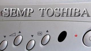 Como consertar um televisor SEMP TOSHIBA, chassi, U 16- que estava desligando e com tela escura