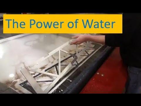 The Power of Water: MASA Waterjet Demo