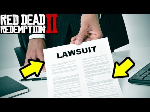 Rockstar Games Law Suit SOLVED! Red Dead Redemption 2 Over? |