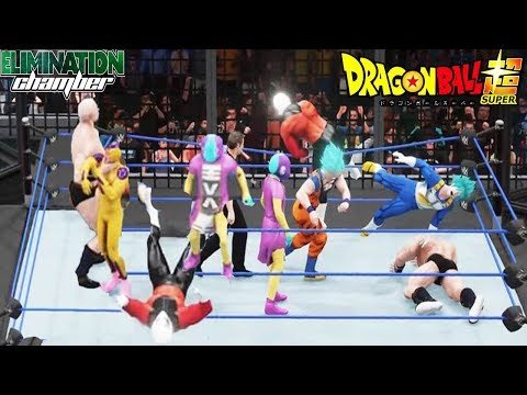 Dragon Ball Super - WWE Chamber Elimination 2018