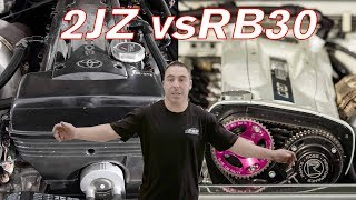 RB30 vs 2JZ Which is the Better Block and Why? - Mythbusted