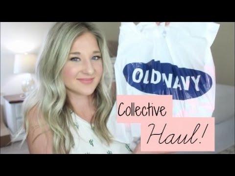 Collective Haul April 2017 | Target, TJMAXX, OLD NAVY