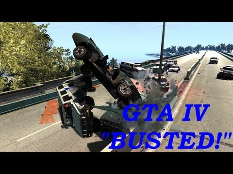 GTA IV Multiplayer Event - BUSTED! x6 & Demolition Derby x2