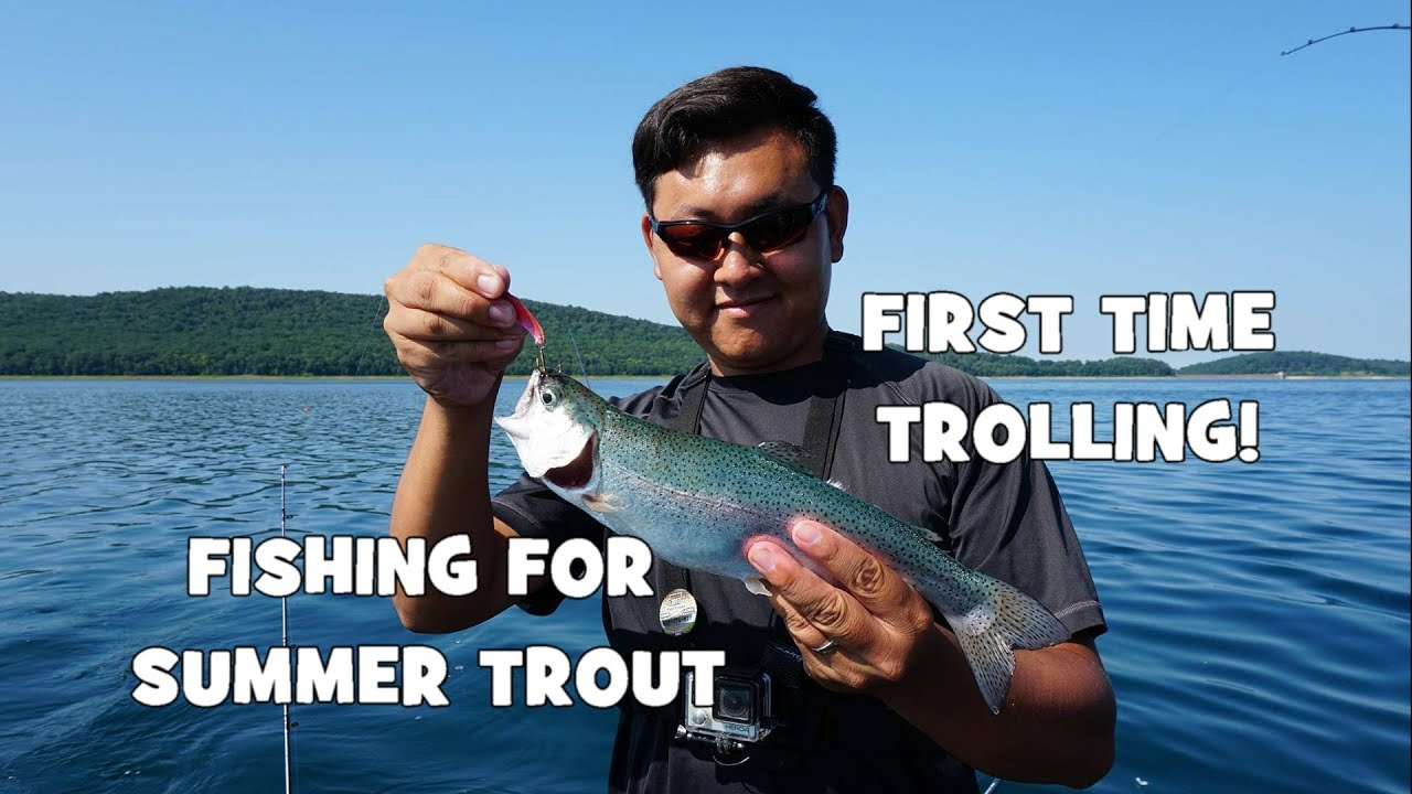 Fishing for summer trout my first time trolling ft for Extreme philly fishing