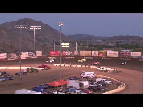 IMCA Modified Main Event 6-30-18 Perris Auto Speedway  Highlights