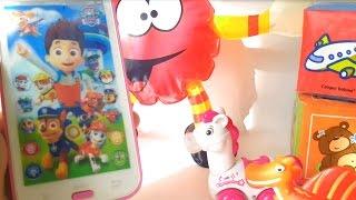 Детский телефон в подарок. Видео для детей с игрушками(У шарика был день рождения и ему подарили замечательный подарок - детский телефон. На телефоне нарисованы..., 2015-08-28T07:07:56.000Z)
