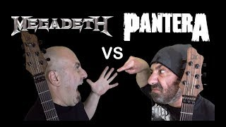 Megadeth VS Pantera (Guitar Riffs Battle)