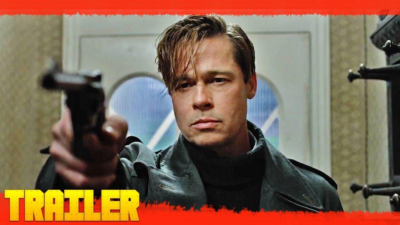 Aliados 2016 Nuevo Tráiler Oficial 2 Brad Pitt Español Youtube