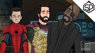 """Как должен был закончиться трейлер """"Человек-паук: Вдали от дома"""""""