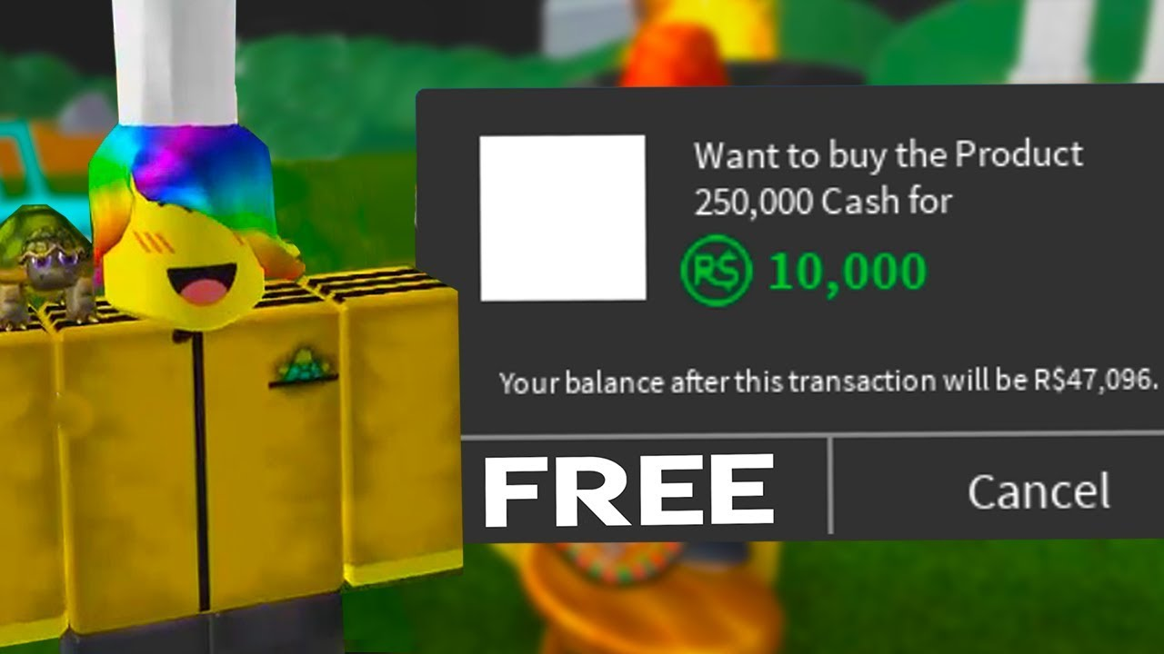 We Found Out How To Get Free Robux Items..